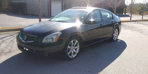 2008 Nissan Maxima for sale at Georgia Fine Motors Inc. in Buford GA