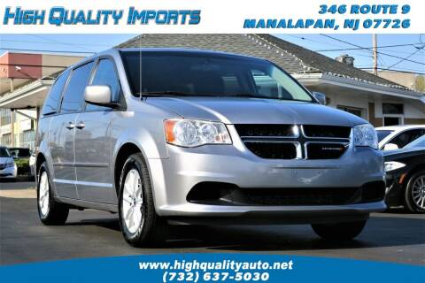 2014 Dodge Grand Caravan for sale at High Quality Imports in Manalapan NJ