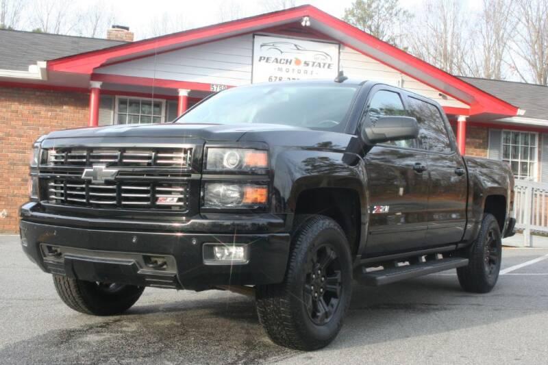 2015 Chevrolet Silverado 1500 for sale at Peach State Motors Inc in Acworth GA