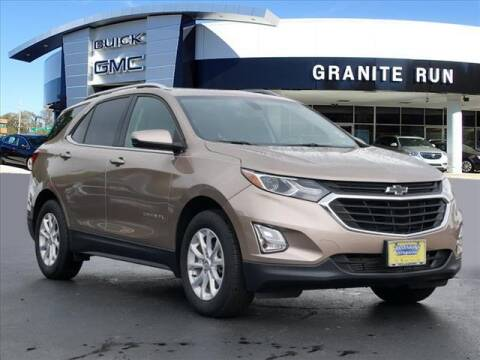 2018 Chevrolet Equinox for sale at GRANITE RUN PRE OWNED CAR AND TRUCK OUTLET in Media PA