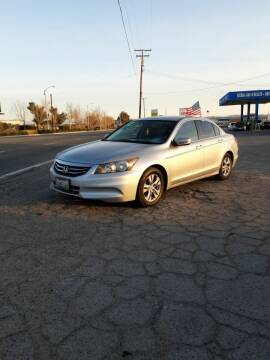 2012 Honda Accord for sale at Autosales Kingdom in Lancaster CA