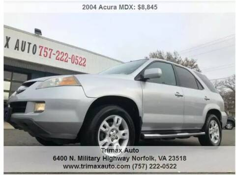 2004 Acura MDX for sale at Trimax Auto Group in Norfolk VA