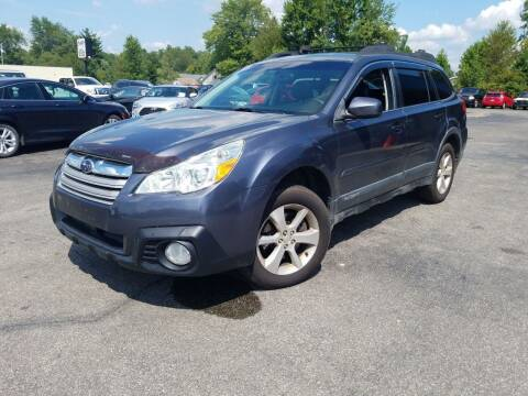 2014 Subaru Outback for sale at Cruisin' Auto Sales in Madison IN