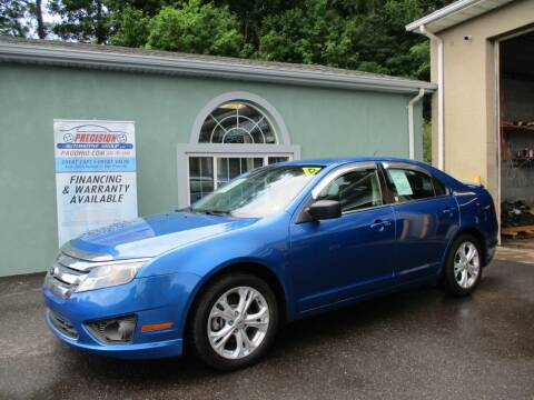 2012 Ford Fusion for sale at Precision Automotive Group in Youngstown OH