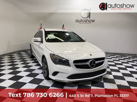 2019 Mercedes-Benz CLA for sale at AUTOSHOW SALES & SERVICE in Plantation FL
