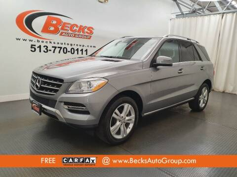 2015 Mercedes-Benz M-Class for sale at Becks Auto Group in Mason OH