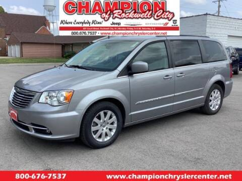 2016 Chrysler Town and Country for sale at CHAMPION CHRYSLER CENTER in Rockwell City IA