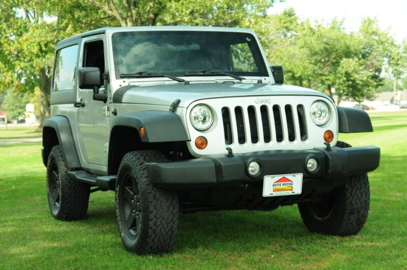 2012 Jeep Wrangler for sale at Auto House Superstore in Terre Haute IN
