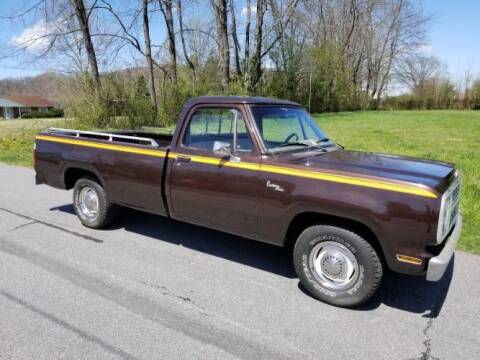 1979 Dodge D100 Pickup for sale at Classic Car Deals in Cadillac MI
