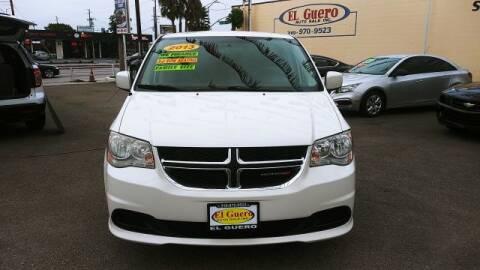 2013 Dodge Grand Caravan for sale at El Guero Auto Sale in Hawthorne CA