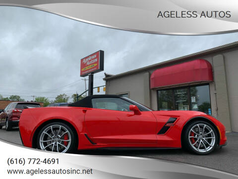 2017 Chevrolet Corvette for sale at Ageless Autos in Zeeland MI