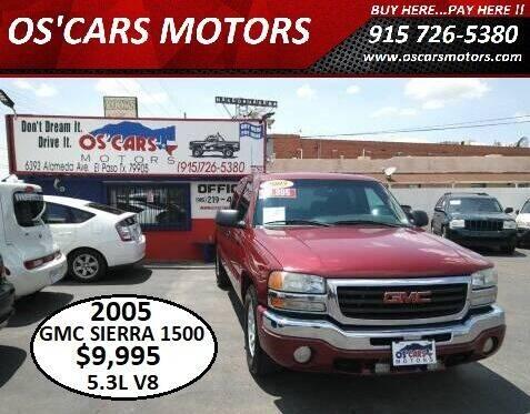 2005 GMC Sierra 1500 for sale at Os'Cars Motors in El Paso TX