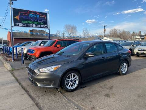 2015 Ford Focus for sale at AWD Denver Automotive LLC in Englewood CO