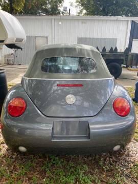 2005 Volkswagen New Beetle Convertible for sale at DAN'S DEALS ON WHEELS in Davie FL