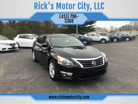 2013 Nissan Altima for sale at Rick's Motor City, LLC in Springfield MA