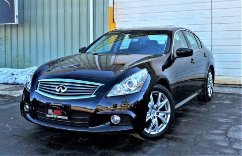 2010 Infiniti G37 Sedan for sale at Haus of Imports in Lemont IL