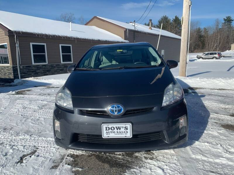 2011 Toyota Prius for sale at DOW'S AUTO SALES in Palmyra ME