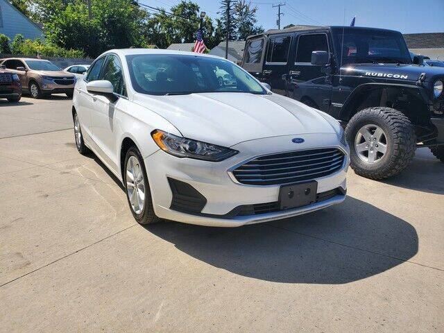 2019 Ford Fusion Hybrid for sale at Great Ways Auto Finance in Redford MI
