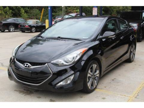 2013 Hyundai Elantra Coupe for sale at Inline Auto Sales in Fuquay Varina NC