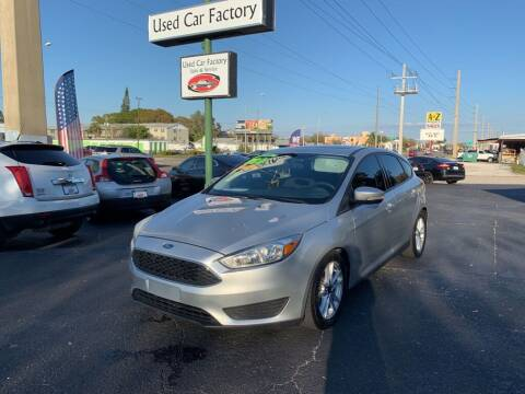 2016 Ford Focus for sale at Used Car Factory Sales & Service in Bradenton FL