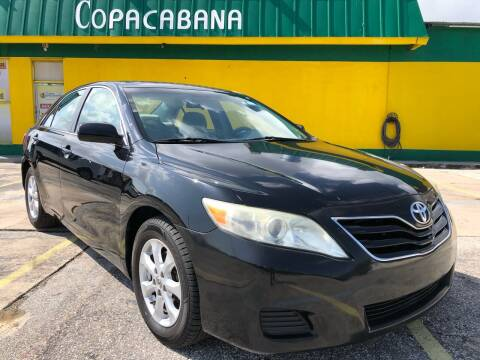 2011 Toyota Camry for sale at Trans Copacabana Auto Sales in Hollywood FL