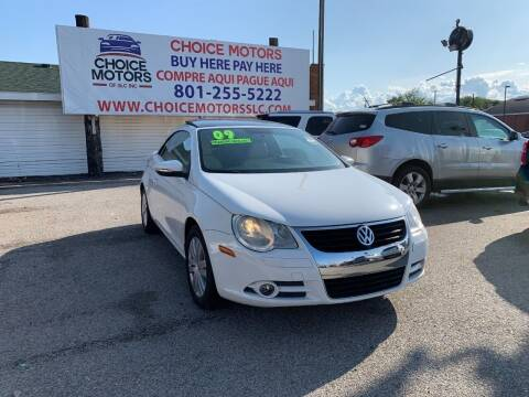 2009 Volkswagen Eos for sale at Choice Motors of Salt Lake City in West Valley  City UT