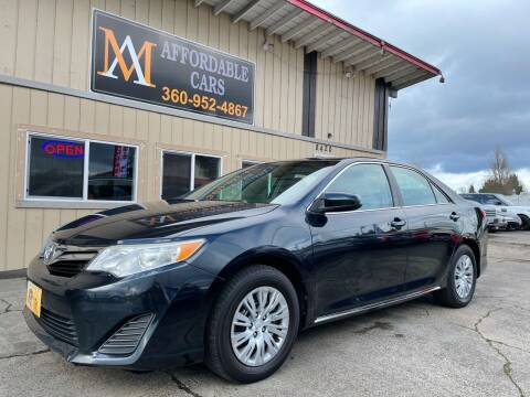 2014 Toyota Camry for sale at M & A Affordable Cars in Vancouver WA