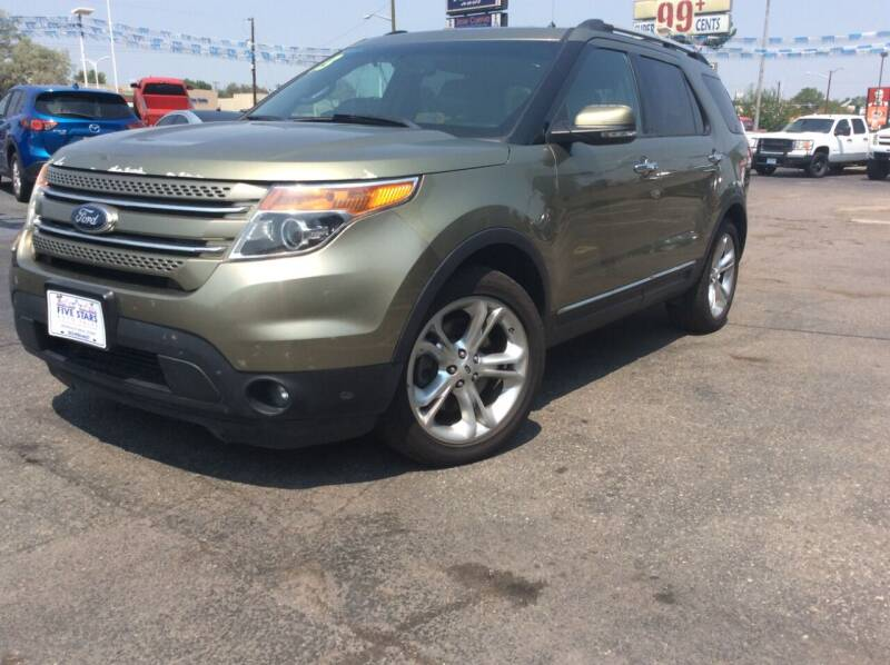 2013 Ford Explorer for sale at Five Stars Auto Sales in Denver CO