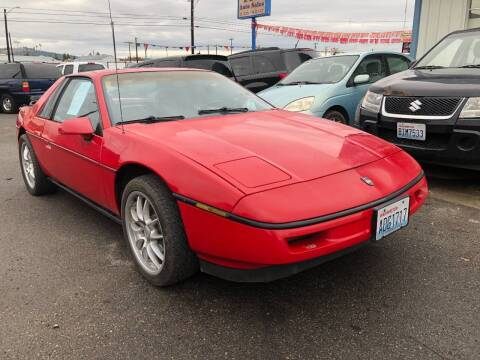 1988 Pontiac Fiero for sale at TTT Auto Sales in Spokane WA