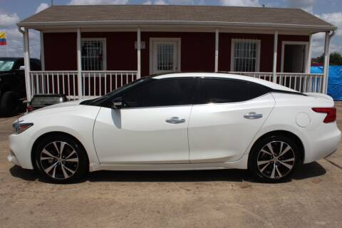 2018 Nissan Maxima for sale at AMT AUTO SALES LLC in Houston TX