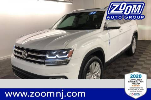 2019 Volkswagen Atlas for sale at Zoom Auto Group in Parsippany NJ