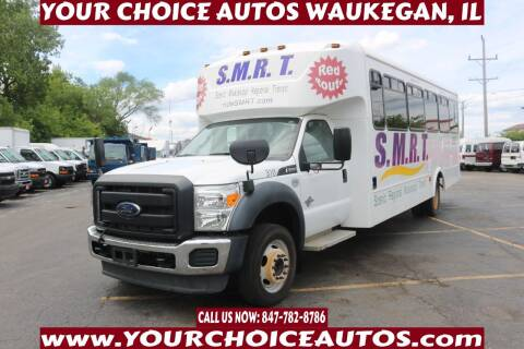 2012 Ford F-550 for sale at Your Choice Autos - Waukegan in Waukegan IL