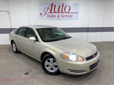 2008 Chevrolet Impala for sale at Auto Sales & Service Wholesale in Indianapolis IN