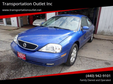 2003 Mercury Sable for sale at Transportation Outlet Inc in Eastlake OH