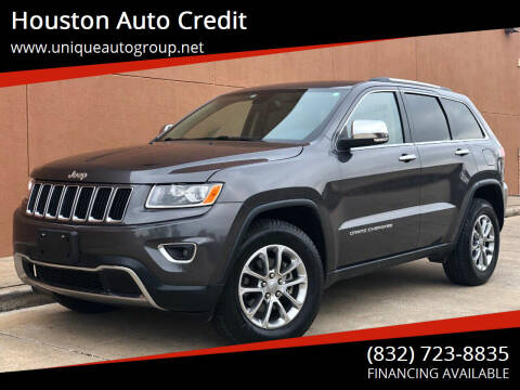 2015 Jeep Grand Cherokee for sale at Houston Auto Credit in Houston TX