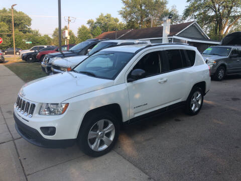 2013 Jeep Compass for sale at CPM Motors Inc in Elgin IL