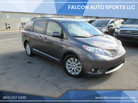 2015 Toyota Sienna for sale at Falcon Auto Sports LLC in Murray UT