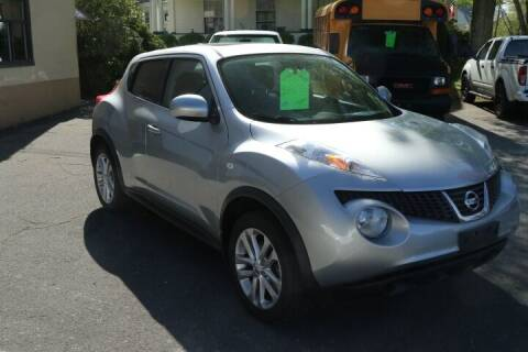 2012 Nissan JUKE for sale at FENTON AUTO SALES in Westfield MA