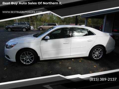 2015 Chevrolet Malibu for sale at Best Buy Auto Sales of Northern IL in South Beloit IL