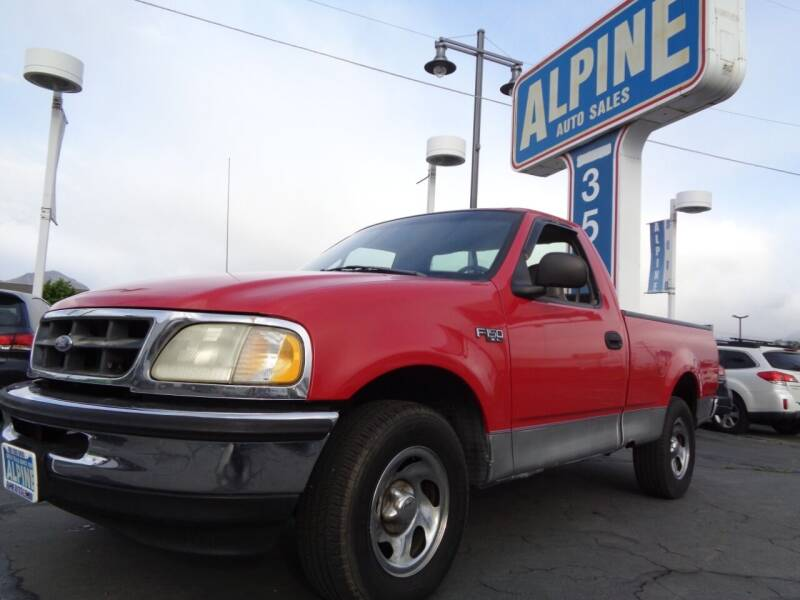 1998 Ford F-150 for sale at Alpine Auto Sales in Salt Lake City UT