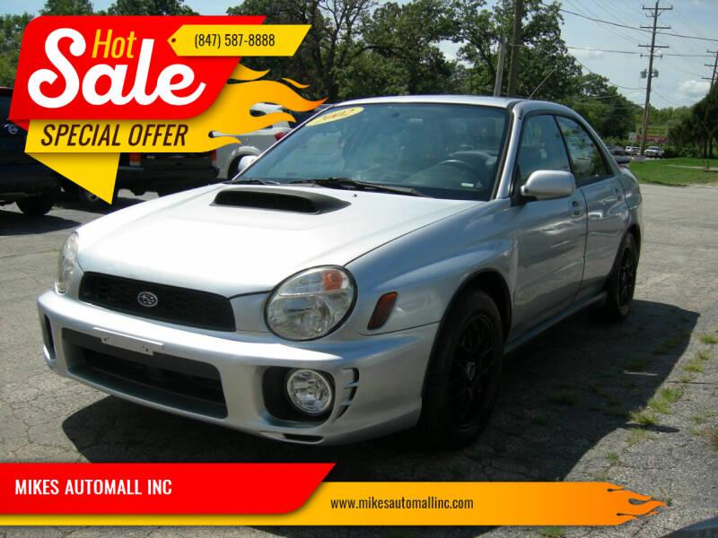 2002 Subaru Impreza for sale at MIKES AUTOMALL INC in Ingleside IL