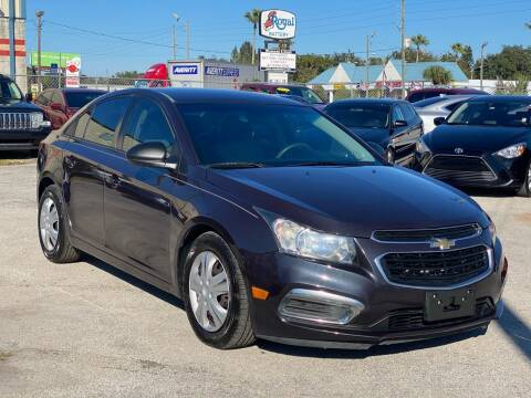 2015 Chevrolet Cruze for sale at Marvin Motors in Kissimmee FL