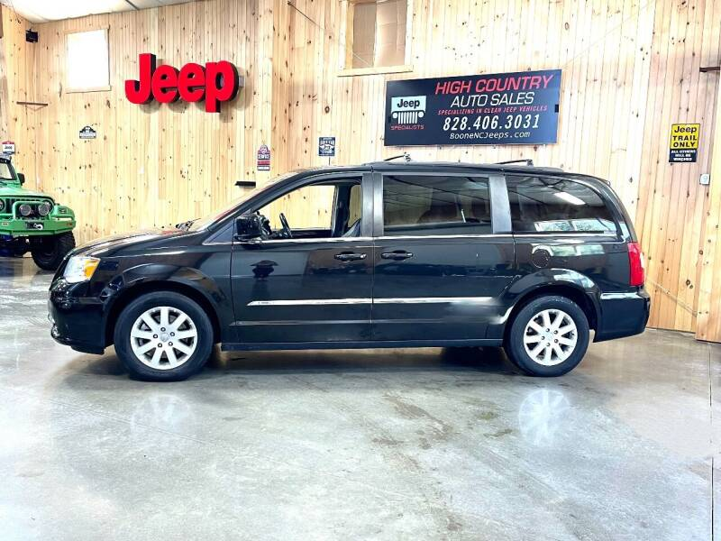 2015 Chrysler Town and Country for sale at Boone NC Jeeps-High Country Auto Sales in Boone NC