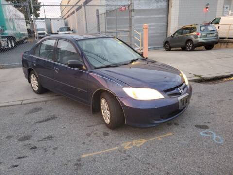 2005 Honda Civic for sale at O A Auto Sale in Paterson NJ