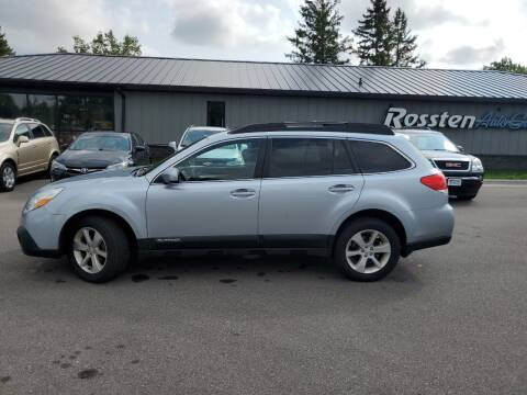 2013 Subaru Outback for sale at ROSSTEN AUTO SALES in Grand Forks ND
