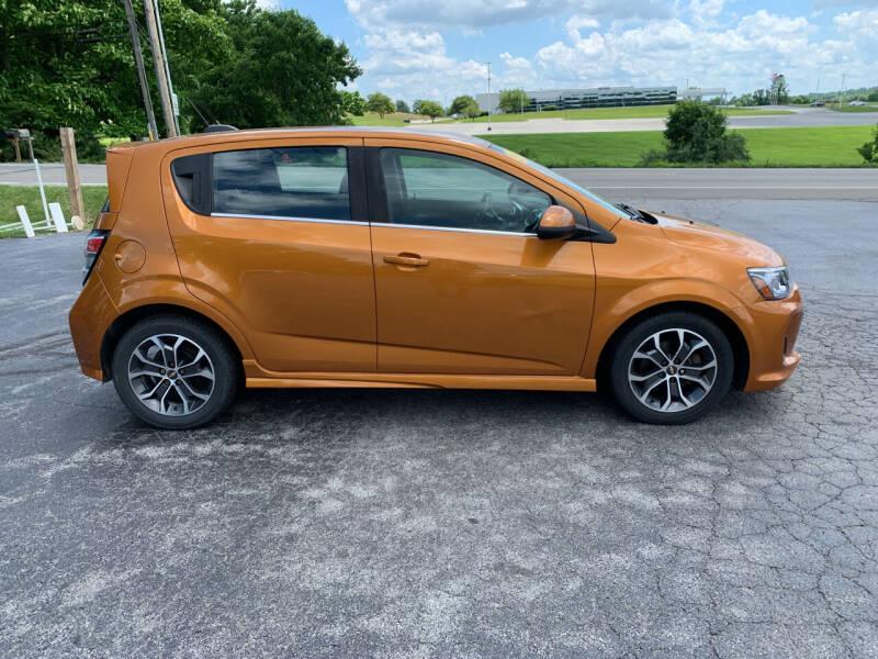 2017 Chevrolet Sonic for sale at Westview Motors in Hillsboro OH