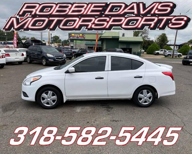 2016 Nissan Versa for sale at Robbie Davis Motorsports in Monroe LA