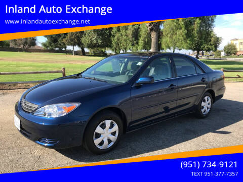 2002 Toyota Camry for sale at Inland Auto Exchange in Norco CA