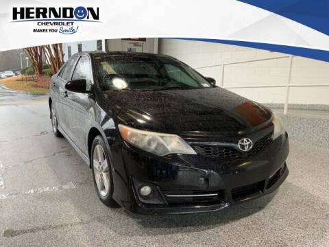 2014 Toyota Camry for sale at Herndon Chevrolet in Lexington SC