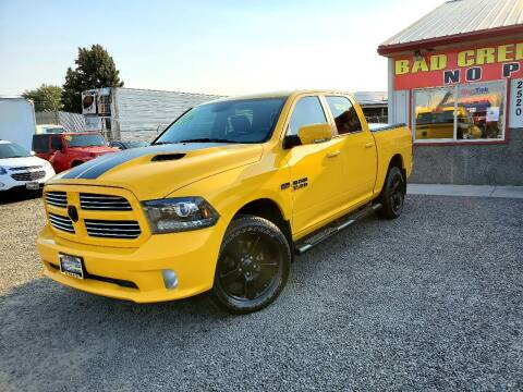2016 RAM Ram Pickup 1500 for sale at Yaktown Motors in Union Gap WA